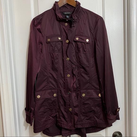 White House Black Market Purple Jacket